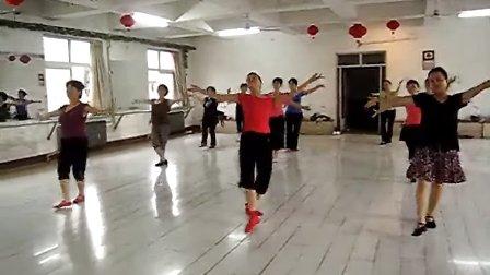 蒙古族舞蹈 天边演示 广场舞天边教学视频